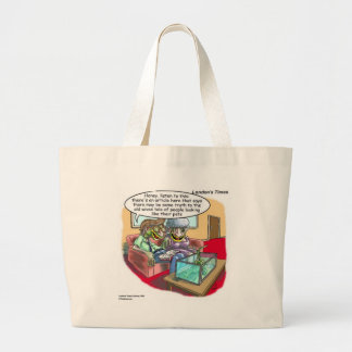 People Who Look Like Iguanas Funny Large Tote Bag