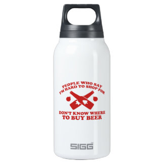 People Who Say I Am Hard To Shop For Don't Know Wh 10 Oz Insulated SIGG Thermos Water Bottle