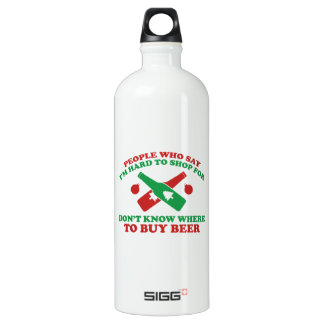 People Who Say I Am Hard To Shop For Don't Know Wh Water Bottle