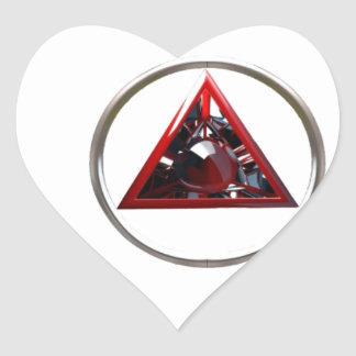 PEOPLE WILL SAY OMG HEART STICKER