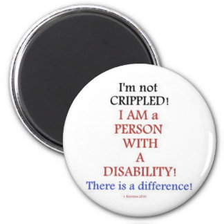 PEOPLE WITH DISABILITIES 2 MAGNET