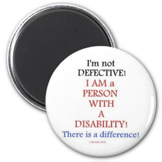 PEOPLE WITH DISABILITIES MAGNET