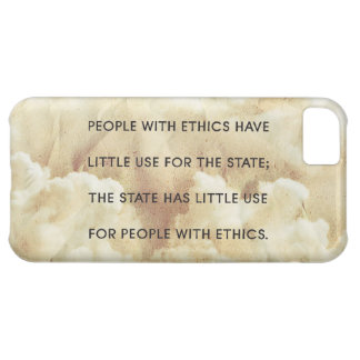 People With Ethics iPhone 5C Cover