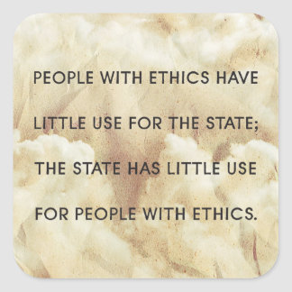 People With Ethics Sticker