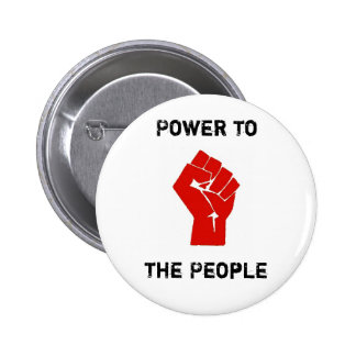 PeoplePower Pinback Buttons