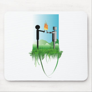 peoplerobot mouse pad