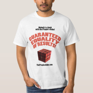 People's Cube - Guaranteed Equality of Results T-Shirt