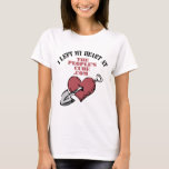 People's Cube - I Left My Heart At ThePeoplesCube T-Shirt