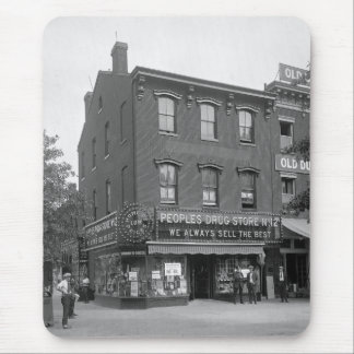 Peoples Drug Store, 1921 Mouse Pad