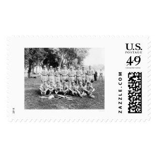 Peoples Drug Store Baseball 1921 Postage Stamp