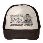 People's House Scott Brown 4 President 2012 Trucker Hats