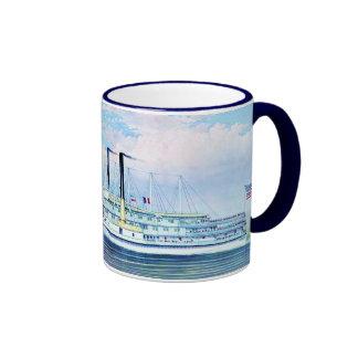 People's Line Hudson River Ringer Mug