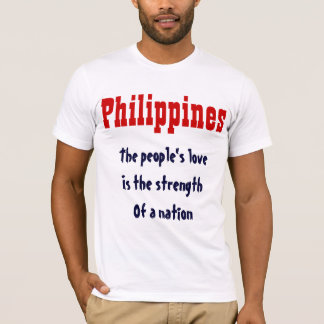 People's love Filipino t-shirts