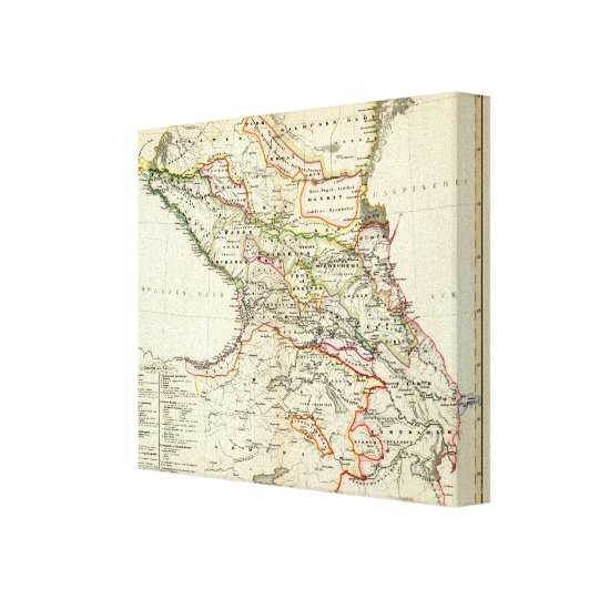 peoples of the Caucasus Canvas Print