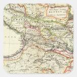 peoples of the Caucasus Square Sticker