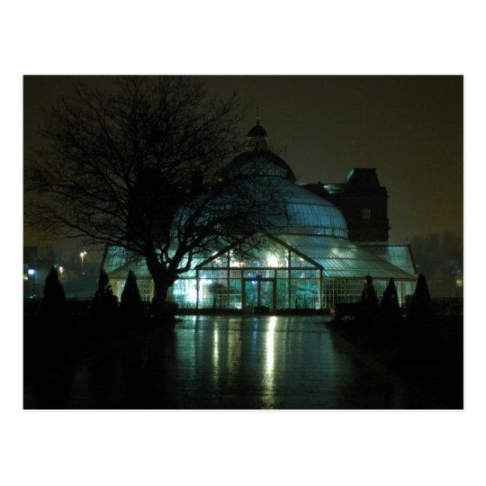 People's Palace at Night Postcard