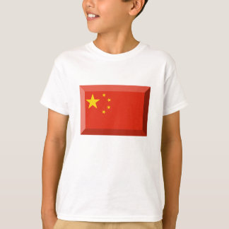 People's Republic of China Flag Jewel T-Shirt