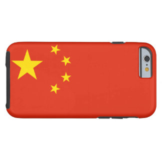 People's Republic of China National World Flag Tough iPhone 6 Case