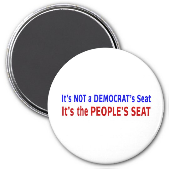 People's Seat Election Message Magnet