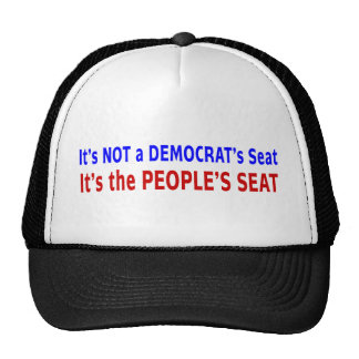 People's Seat Election Message Trucker Hat