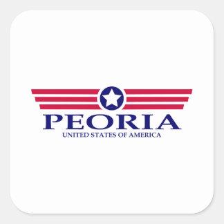 Peoria AZ Pride Square Sticker