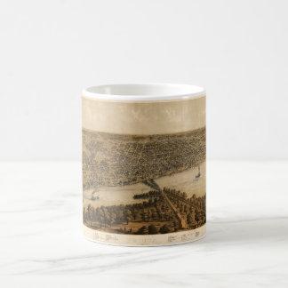 Peoria Illinois (1867) Coffee Mug