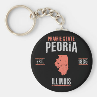 Peoria Keychain