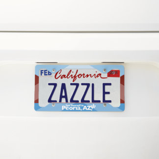 Peoria License Plate Frame