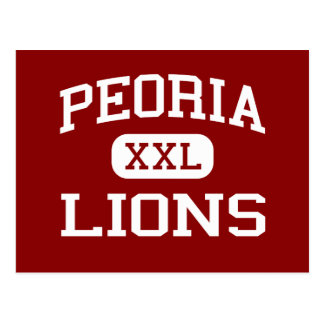 Peoria - Lions - High School - Peoria Illinois Postcard