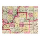 Peoria, Woodford, condados de Tazewell Postal
