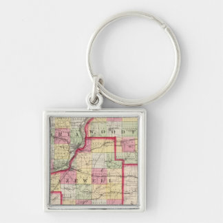 Peoria Woodford Tazewell counties Keychains