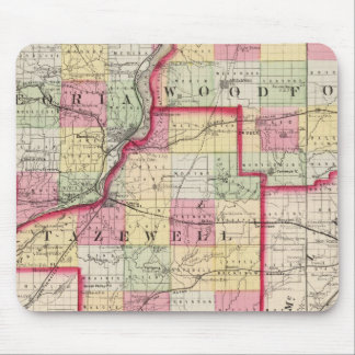 Peoria, Woodford, Tazewell counties Mouse Pad