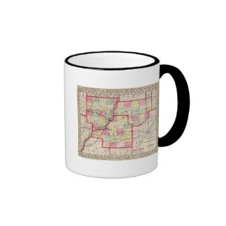 Peoria, Woodford, Tazewell counties Ringer Mug