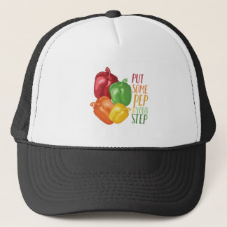 Pep In Step Trucker Hat