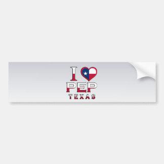Pep, Texas Bumper Stickers