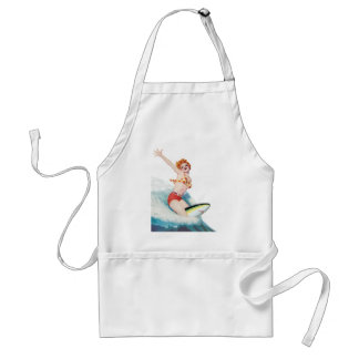 Pep you Up, Ride the Shark Adult Apron