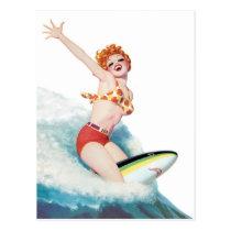 Pep you Up, Ride the Shark Postcard