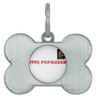 Pepaseed DubTrash Artist Farmer Pet Tag