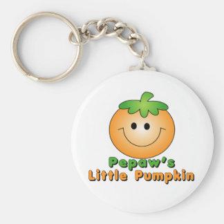 Pepaw Little Pumpkin Keychain