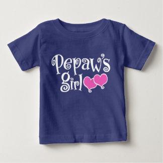 Pepaw's Girl Baby T-Shirt