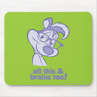 Pepe Le Pew - All This & Brains Mouse Pad
