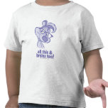 Pepe Le Pew - All This & Brains T Shirts