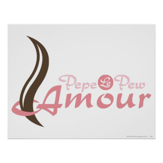 Pepe Le Pew - amorío Posters