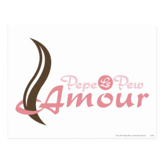 Pepe Le Pew - Amour Post Card