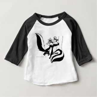 Pepe Le Pew and Penelope 2 Baby T-Shirt