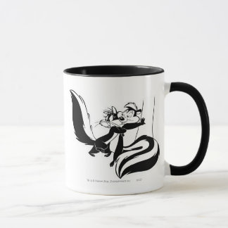Pepe Le Pew and Penelope 2 Mug