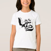 Pepe Le Pew and Penelope 2 T-Shirt
