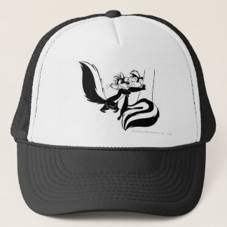 Pepe Le Pew and Penelope 2 Trucker Hat