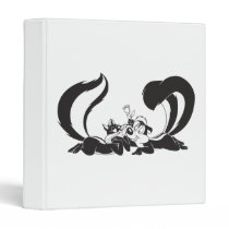 Pepe Le Pew and Penelope 4 Binder