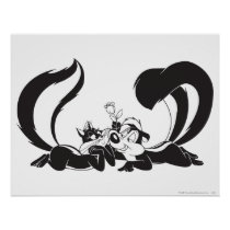 Pepe Le Pew and Penelope 4 Poster